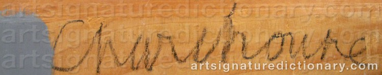 Signature by Serge CHARCHOUNE