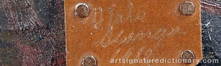 Signature by Italo SCANGA