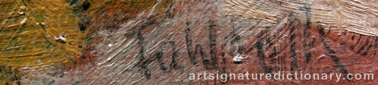 Signature by Tom FAHLROTH