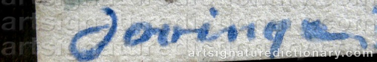 Signature by Torsten JOVINGE