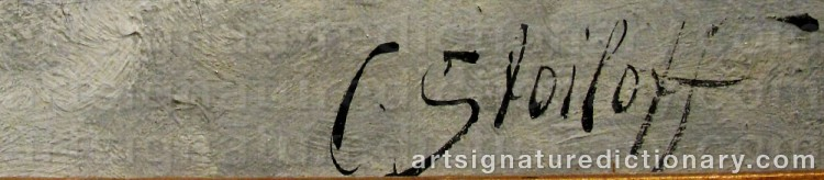 Signature by Adolf Constantin The Elder BAUMGARTNER