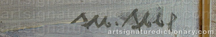 Signature by Albert ABBE