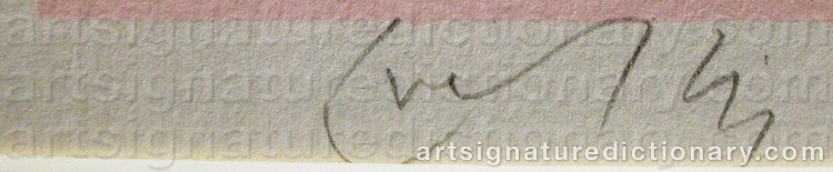 Signature by Jorge KRALLIS