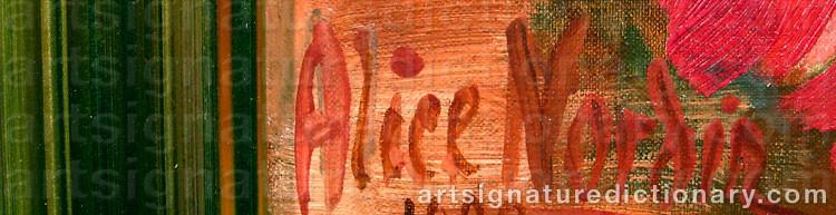 Signature by Alice NORDIN