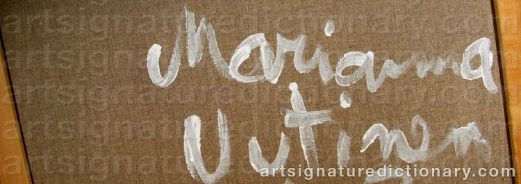 Signature by Marianna UUTINEN