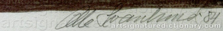 Signature by Olle SVANLUND