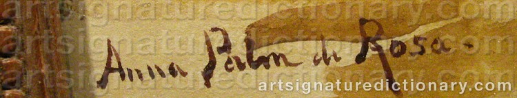 Signature by Anna PALM DE ROSA