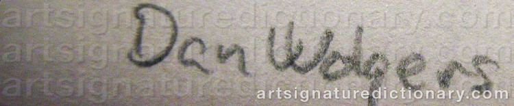 Signature by Dan WOLGERS