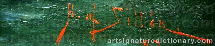 Signature by Herman Af SILLÉN