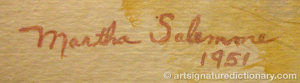 Signature by Martha SALEMME