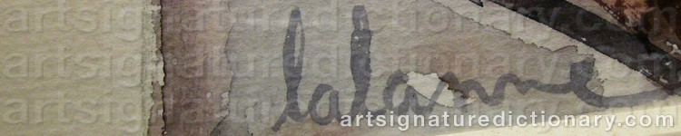Signature by LALANNE