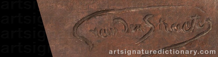 Signature by Georges Van STRAETEN