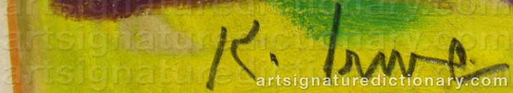 Signature by Knut IRWE