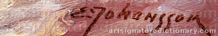 Signature by Arthur HEICKELL