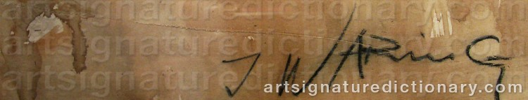 Signature by Jørgen WARING