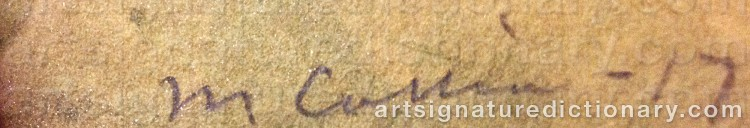 Signature by Marcus COLLIN