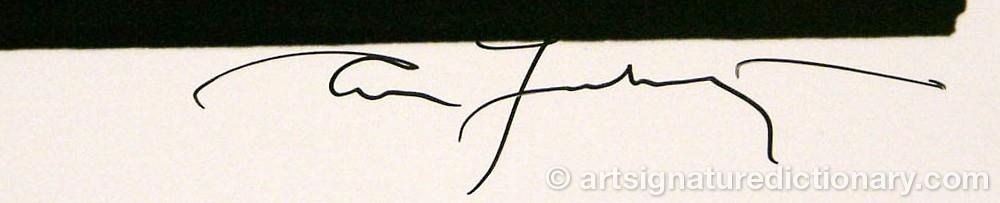 Signature by Annie LEIBOWITZ