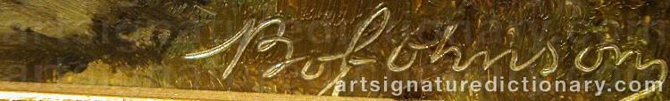 Signature by Bo JOHNSON