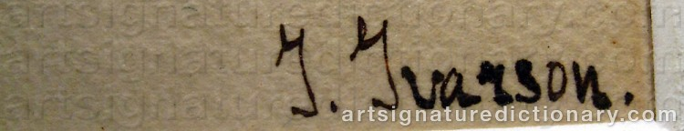 Signature by Ivan IVARSON