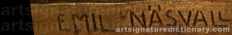 Signature by Per Emil NÄSVALL