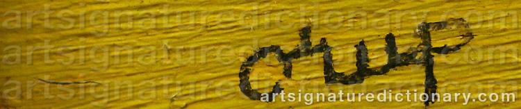 Signature by Bengt ORUP