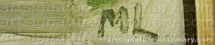 Signature by Martin LINDBERG
