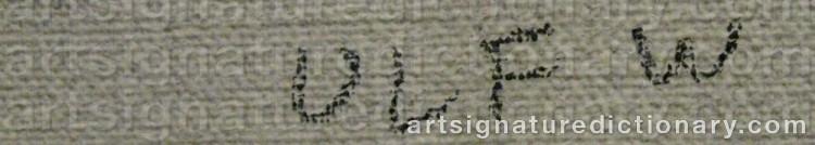 Signature by Ulf 'Ulf W' WAHLBERG