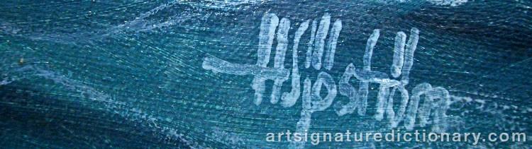 Signature by Håkan SJÖSTRÖM