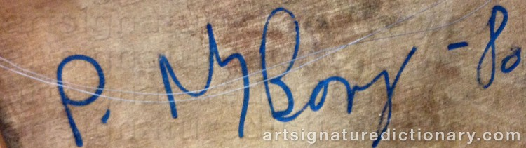 Signature by Peter NYBORG