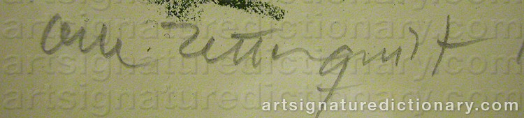 Signature by Olle ZETTERQUIST