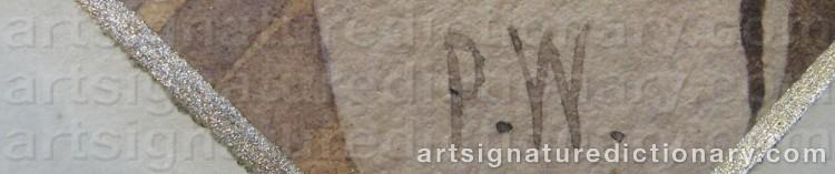Signature by Per WICKENBERG