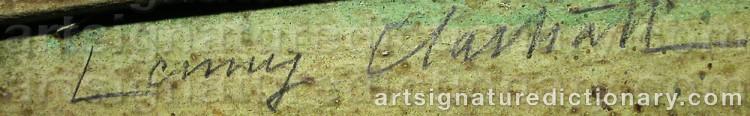 Signature by Lenny CLARHÄLL