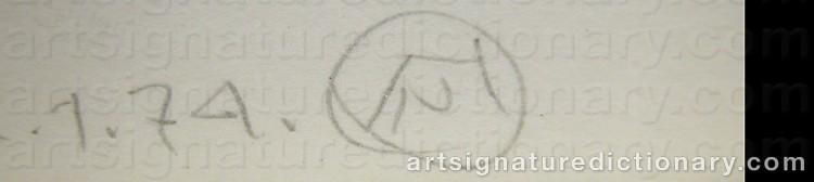 Signature by Nicholas HONDROGEN