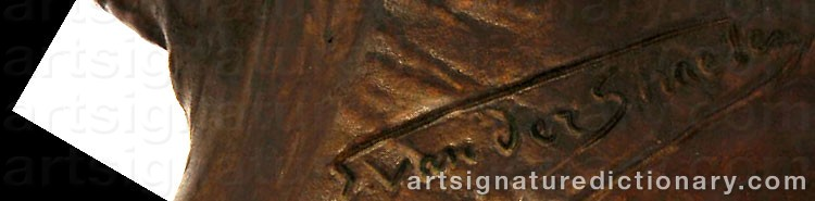 Signature by Georges Van STRAETEN