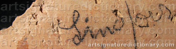 Signature by Evert LINDFORS