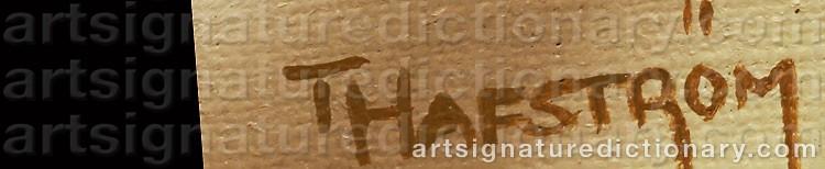 Signature by Thomas HAFSTRÖM