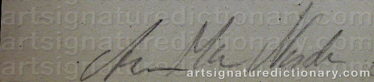 Signature by Anne-Marie NORDIN