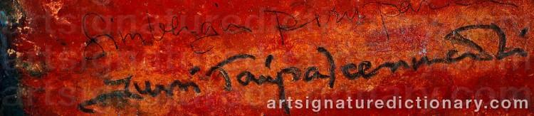 Signature by Jussi TAIPALEENMÄKI