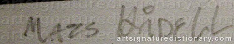 Signature by Mats HÅDELL
