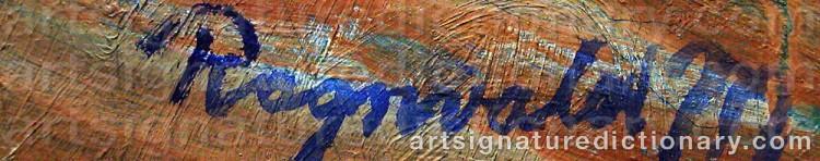 Signature by Ragnvald 'Ragnvald M' MAGNUSSON