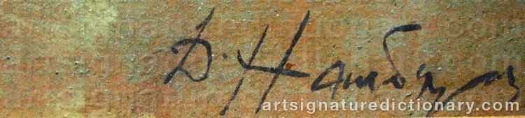 Signature by Dimitri Arkadievich NABALDIAN