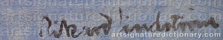 Signature by Rikard LINDSTRÖM