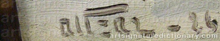 Signature by Anders ALTZAR