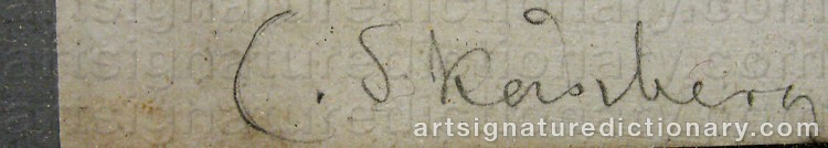 Signature by Carl SKÅNBERG