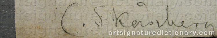Signature by Carl SKÅNBERG