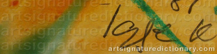Signature by Igge 'Igge K' KARLSSON