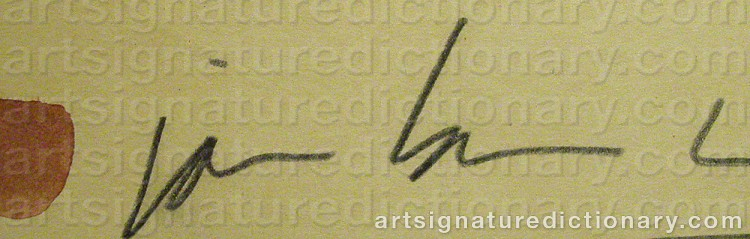 Signature by James BROWN
