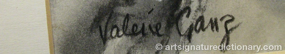 Signature by Valerie GANZ