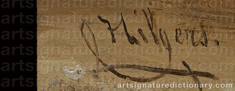 Signature by Carl HILGERS