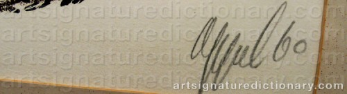 Signature by: APPEL, Karel